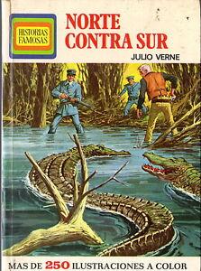 Norte-contra-Sur-Julio-Verne-Coleccion-Historias-Famosas-Infantil-y-juvenil