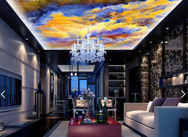 3D Farbe Mush Up Ceiling WallPaper Murals Wall Print Decal AJ WALLPAPER US