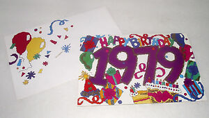 1979-Happy-Birthday-Card-Facts-Remember-Historical-Birth-Year-Unused-Scrapbook
