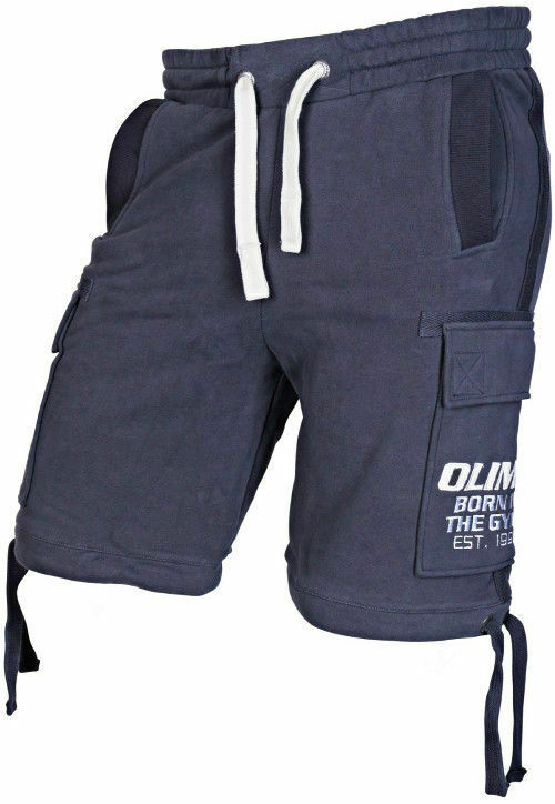 Olimp Live and Fight - HEAVYWEIGHT SHORT Navy L