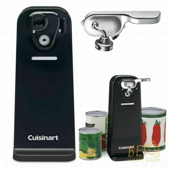 FREE SHIPPING! Cuisinart CCO-50BKN Deluxe Electric Can Opene