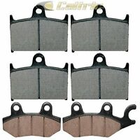 Front & Rear Brake Pads Fit Triumph Trophy 900 1200 1995-2003
