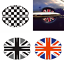 2 Pcs Union Jack Door Handle Cup Scratch Guards Protector Sticker For Mini Coope
