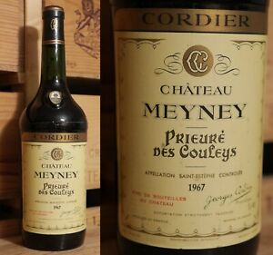 1967er Chateau Meyney-saint Estephe-rare-magnum ***-afficher Le Titre D'origine Soulager La Chaleur Et La Soif.