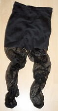 Nylon Glanz Strumpfhose -  Übergrösse - Größe 50 - SCHWARZ