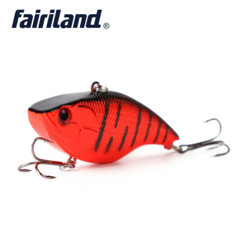 1pcs Hard Bait Fresh//Saltwater Artificial 3D-Eyes Fishing Lure w// 2 Treble Hooks