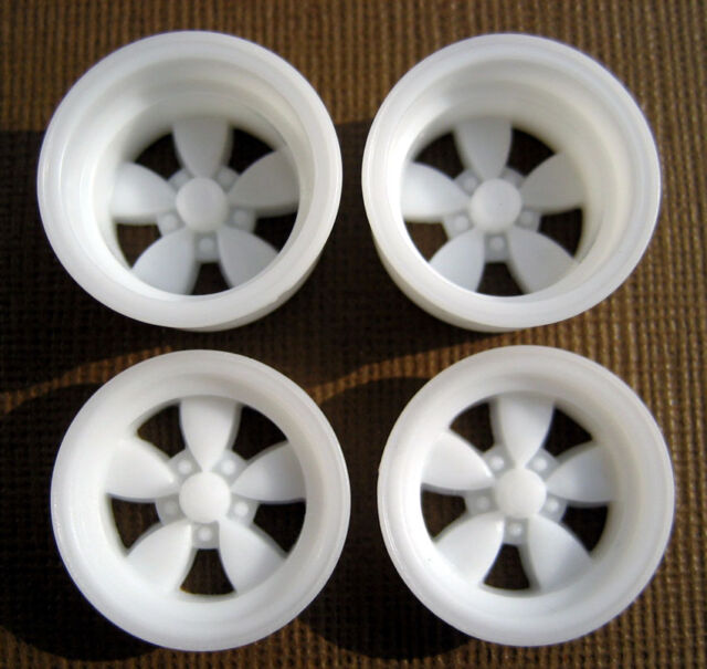 Resin 1/25 American 200-S Daisy Mag Wheels - Wide & Narrow Set