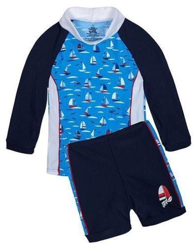 Platypus Australia Boys UPF50 NEW Regatta LS Baby Sunset size 6-9 months