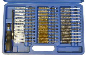 38pc-Brush-Set-di-Pulizia-amp-Decarbonising-Kit-Iniettore-Strumento-Acciaio-Nylon-in-ottone