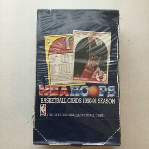 1990-91-NBA-Hoops-Series-1-Factory-Sealed-Box-36-Packs