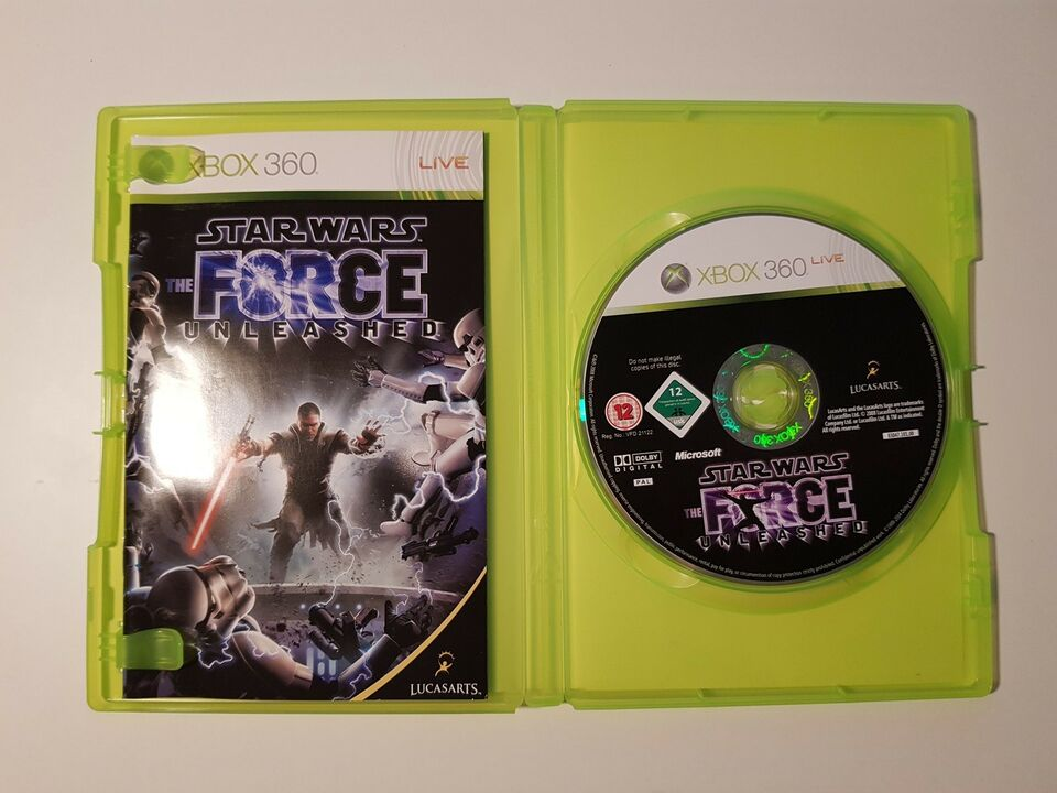 Star Wars, the force unleashed, Xbox 360