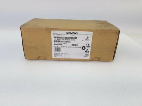 SIEMENS MICROMASTER 4 PROFIBUS MODULE 6SE6400-1PB00-0AA0