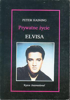 Elvis Presley Elvis In Private Polish Book