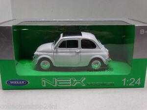 Welly-Fiat-500-white-1965-scale-1-24-item-nr-22515w
