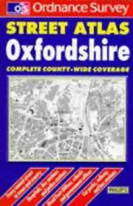 Very-Good-Os-Str-Atl-Oxon-Pkt-0540075140-OS-Philip-039-s-street-atlases-Ordnan