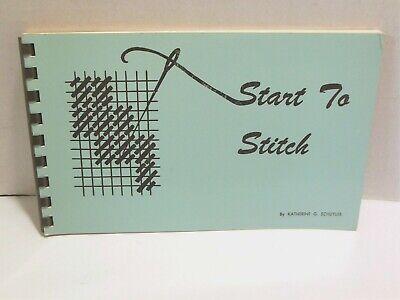 START TO STITCH Needlepoint Needlework Stitches Guide ...
