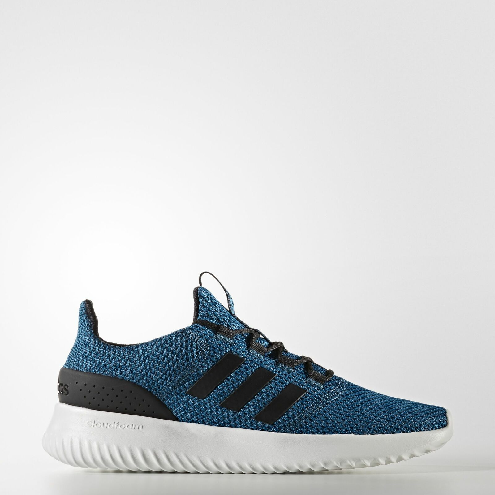 Adidas Neo Cloudfoam Ultimate Herren Sportschuh Blau Petrol Gr 6,5 - 13,5