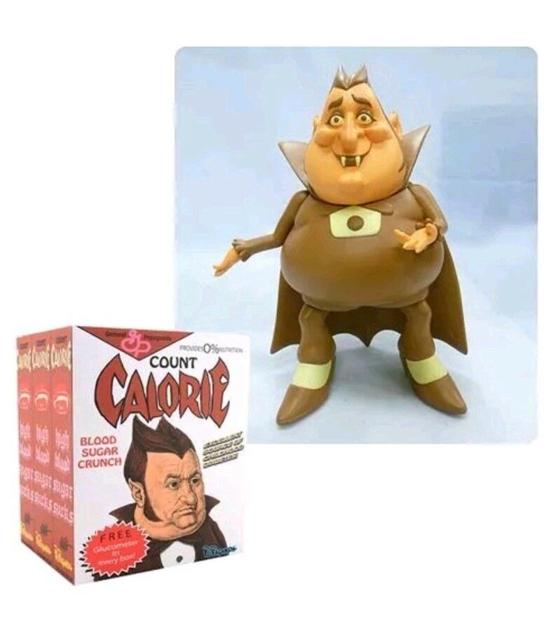 Count Count Count Calorie Cereal Killers Series 8  Designer Vinyl Figure - Ron English 14b9ff