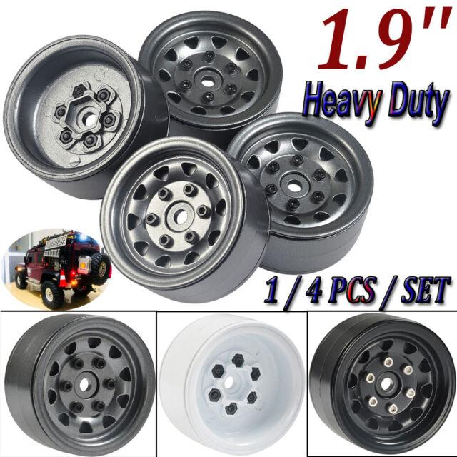 4pcs 6S heavy duty beadlock alloy 1.9 wheel rim for 1:10 1//10 rc crawler car