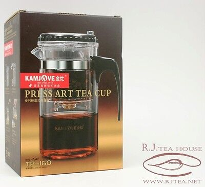*Glass Tea Pot*TP-160 Kamjove Gongfu Press Art Tea Cup-500ml Free Shipping!!!