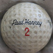 (1) PAUL HARNEY SIGNATURE LOGO GOLF BALL (KROYDON RAM CIR 1968) #2