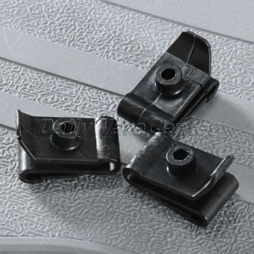 50X Car Fender Bumper 5mm Hole Plug Fastener Hood Prop Rod Support Clips Rivets