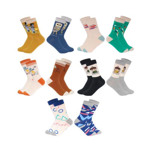 NEW Women Ladys Cotton Crew Socks Funny Cartoon Animals Novelty Dress Socks 6-9