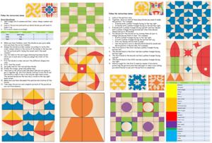 Moziblox Éducatif Cube Jeu Visual Perception, Créatif Apprentissage Pour Tout