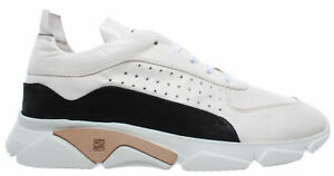 MOMA-Chaussures-Baskets-Pour-Hommes-12901-IA-Florence-Bianco-Cuir-Blanc-Made-in-Italy
