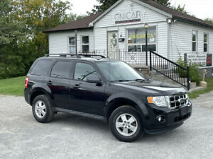 2011 Ford Escape LOW KMS No-Accidents 4WD V6 XLT Leather Sunroof Power Group