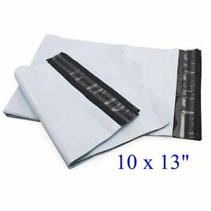 """10 x 13 """" Poly Mailers Envelope Plastic Mailing Bags 40 100 200 500 1000 2.35mil"""