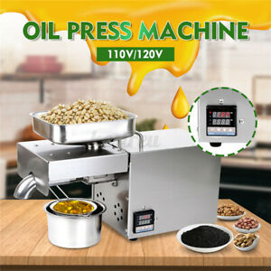 Automatic-Oil-Press-Machine-Stainless-Steel-Presser-Intelligent-Control