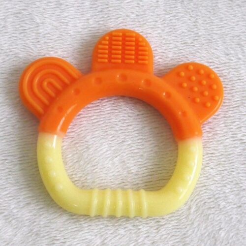 Watermelon Soft Fruit Gum Teething Cute Hand holding Bite Teether Baby Appease