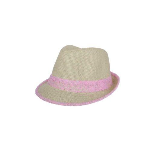 Trilby Whistler Beige et Rose Taille unique
