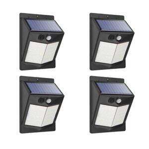 4er-Lampara-Solar-LED-con-Sensor-de-Movimiento-Exterior-Proyectores-Foco