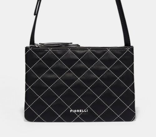 Cross Bag bnwt Handbag Quilted Mono New Body Fiorelli Shoulder qznPa
