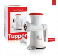 Tupperware Fusion Master Mincer White - Red Colour With Gift Box