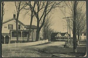 Woodstock-Ulster-Co-NY-c-1907-Postcard-THE-SQUARE-Center-of-Village