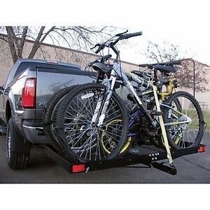 Image Is Loading Cargo Carrier 4 Bike Rack 500lbs Capacity Tow