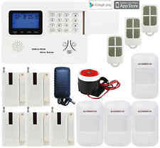 P41 IOS/Android APP GSM PSTN Wireless Office Home Security Alarm Burglar System