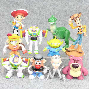 10-TOY-STORY-WOODY-JESSIE-BUZZ-ACTION-FIGURES-DOLL-CAKE-TOPPER-DECOR-KID-PLAYSET