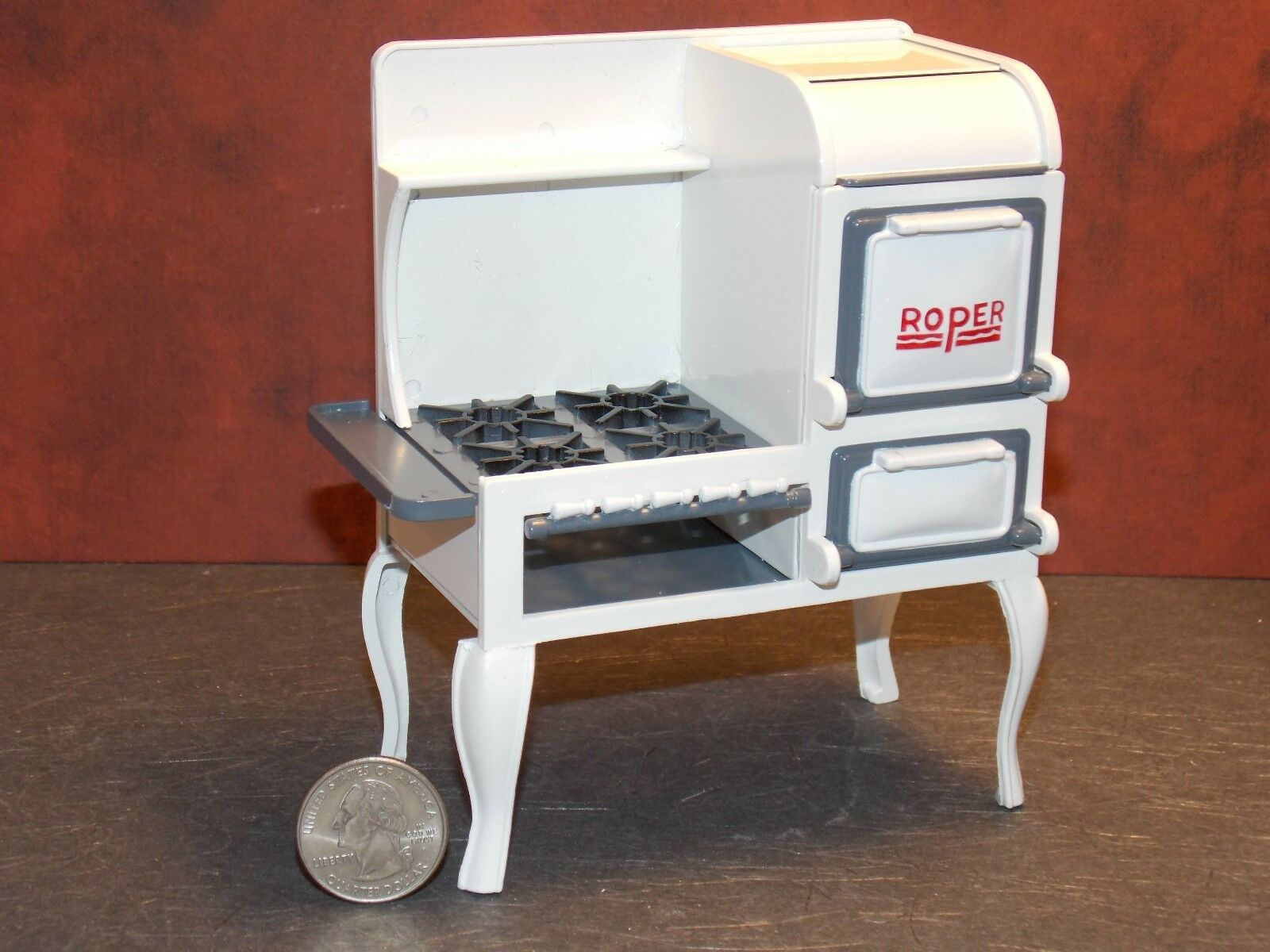 Dollhouse Miniature Roper Range Cook Stove Kitchen 1:12 scale G77 Dollys Gallery