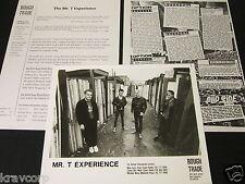THE MR. T EXPERIENCE 'BIG BLACK BUGS BLEED BLUE BLOOD' 1989 PRESS KIT--PHOTO
