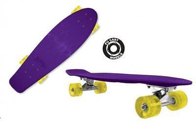 "Bored Ice XTL M02160 27"" Kick Tail Precision Cruiser Skateboard ABEC 5 Bearings"