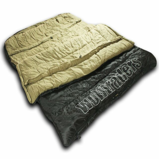 Wolftraders Twowolves 30 Degree 2 Person Premium Ripstop Double Sleeping Bag