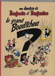 UDERZO-et-GOSCINNY-Le-Grand-Boudtchou-Benjamin-et-Benjamine-Hors-Commerce