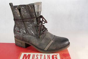 Mustang-Botines-Botines-Botas-de-Cordon-Botas-Cigar-1229-Nuevo