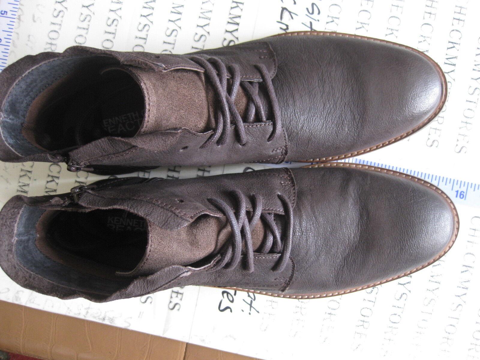 NEW Kenneth Cole REACTION Prove It 2 ME Lace-Up Lace-Up Lace-Up Leather Stiefel CHOOSE GrößeS 0105e9