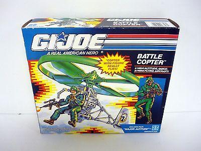 GI JOE BATTLE COPTER Vintage Action Figure Vehicle MISB COMPLETE w/BOX 1991