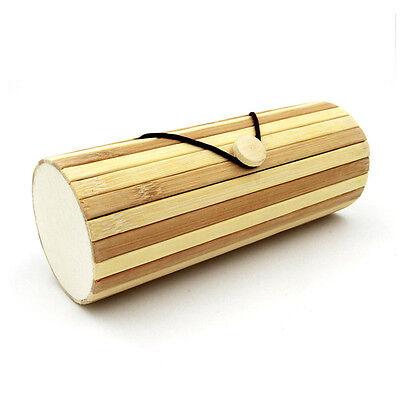 Vintage Handmade Sunglasses Box Natural Bamboo Wooden Unisex Glasses Frame Case